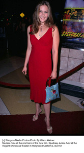 Marissa Tate at the premiere of the new film, Spedway Junkie held at the Regent Showcase theater in Hollywood California. 8/27/01. © 2001 Glenn Weiner - Image 19280_0105