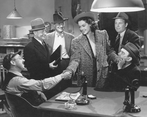 """""""His Girl Friday""""Rosalind Russell1940 Columbia**I.V. - Image 19305_0003"""