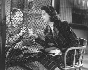 """His Girl Friday""Rosalind Russell1940 Columbia**I.V. - Image 19305_0005"