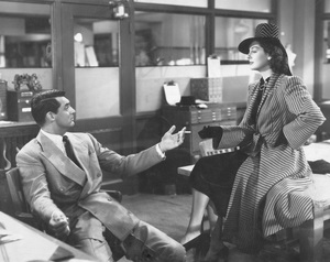 """His Girl Friday""Cary Grant & Rosalind Russell1940 Columbia**I.V. - Image 19305_0007"
