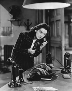 """""""His Girl Friday""""Rosalind Russell1940 Columbia**I.V. - Image 19305_0013"""