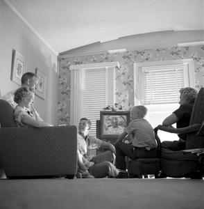 Rev. Herman W. Gockel and family7/14/1953 © 1978 Sid Avery - Image 19373_0003