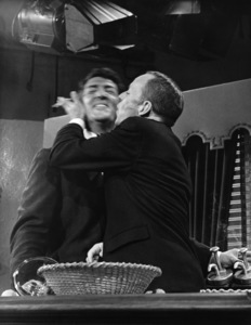 "Dean Martin and Frank Sinatra rehearsing for ""The Dean Martin Show""1965 © 1978 Gerald Smith - Image 1943_0009"
