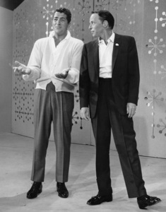"Dean Martin and Frank Sinatra rehearsing for ""The Dean Martin Show""1965 © 1978 Gerald Smith - Image 1943_0010"