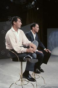 "Dean Martin and Frank Sinatra rehearsing for ""The Dean Martin Show""1965 © 1978 Gerald Smith - Image 1943_0015"
