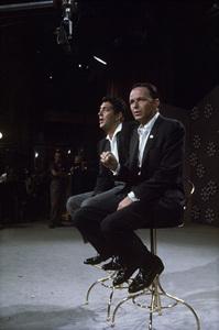 "Dean Martin and Frank Sinatra rehearsing for ""The Dean Martin Show""1965 © 1978 Gerald Smith - Image 1943_0018"