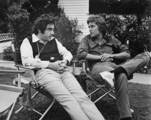 """""""Summertree""""Michael Douglas and Director Anthony Newley1971 Columbia**I.V. - Image 19555_0004"""