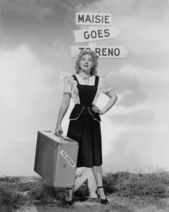 """Ann Sothern in """"Maisie Goes to Reno""""1944 MGM** I.V/M.T. - Image 1957_0653"""