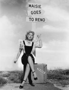 """Ann Sothern in """"Maisie Goes to Reno""""1944 MGM** I.V/M.T. - Image 1957_0654"""