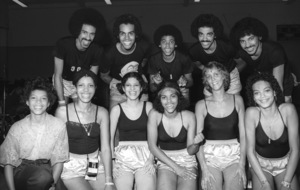 The Sylvers at celebrity basketball game 1978 © 1978 Bobby Holland - Image 19575_0008