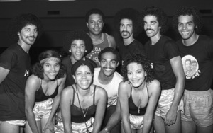 The Sylvers at celebrity basketball game 1978 © 1978 Bobby Holland - Image 19575_0011