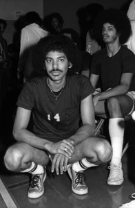 James Sylvers of The Sylvers at celebrity basketball game 1978 © 1978 Bobby Holland - Image 19575_0016
