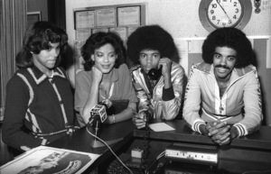 """The Sylvers, Walt """"Baby"""" Love and Carole Carper in Los Angeles 1978 © 1978 Bobby Holland - Image 19575_0020"""