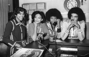 """The Sylvers, Walt """"Baby"""" Love and Carole Carper in Los Angeles 1978 © 1978 Bobby Holland - Image 19575_0023"""