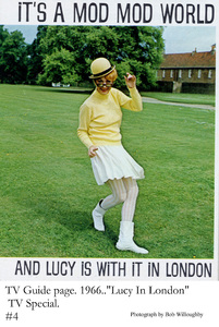 """Lucy in London"" TV Special 1966Lucille Ball © 1978 Bob Willoughby - Image 19579_0001"