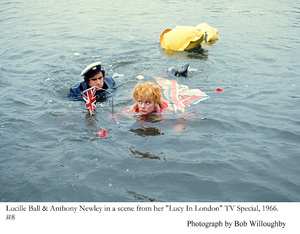 """Lucy in London"" TV Special 1966Lucille Ball, Anthony Newley © 1978 Bob Willoughby - Image 19579_0008"