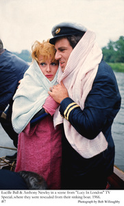 """""""Lucy in London"""" TV Special 1966Lucille Ball, Anthony Newley © 1978 Bob Willoughby - Image 19579_0009"""