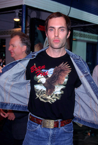 James Haven the brother of Angelina Jolie shows some pride at the premiere of the new film, Bandits held at the Mann Village theater in Westwood California. 10/04/01. © 2001 Glenn Weiner - Image 19588_0117