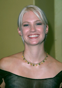 January Jones at the premiere of her new film,Bandits that she stars in. The premiere was held at the Mann Village theater in Westwood. Ca. 10/04/01. © 2001 Glenn Weiner - Image 19588_0120