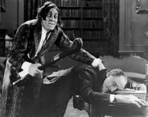 """Dr. Jekyll and Mr. Hyde,""John Barrymore1920 / Paramount-Artcraft**I.V. - Image 19593_0002"