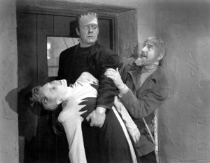 """Ghost Of Frankenstein""Bela Lugosi, Lon Chaney Jr., Evelyn Ankers1942 Universal / **I.V. - Image 19594_0001"