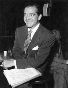 Dana Andrews, c. 1960.Photo by Gabi Rona - Image 1961_0002