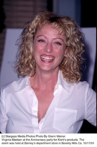 Virginia Madsen at the Anniversary party for Kiehl