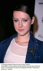 Jena Malone at the premiere of the new film that she stars in, Donnie Darko. The premiere was held at the Egyptian theatre in Hollywood California. 10/22/01. © 2001 Glenn Weiner - Image 19647_0105