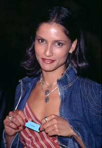 Leonor Varela at the premiere of Donnie Darko held at the Egyptian theatre in  Hollywood Ca. 10/22/01. © 2001 Glenn Weiner - Image 19647_0109