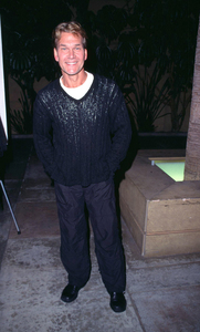 Patrick Swayze attends the premiere of his new film,Donnie Darko held at the Egyptian theatre in HollywoodCalifornia. 10/22/01. © 2001 Glenn Weiner - Image 19647_0115