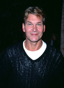 Patrick Swayze at the premiere of his new film, Donnie Darko held at the Egyptian theatre in Hollywood California. 10/22/01. © 2001 Glenn Weiner - Image 19647_0116