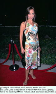 Lisa Marie Elwes at the premiere of the new NBC mini-series Uprising, held at the Academy of Motion Pictures Arts & Sciences in Beverly Hills Ca.10/22/01. © 2001 Scott Weiner - Image 19648_0111