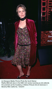 Radha Mitchell stars in the NBC mini-series Uprising as she attends the premiere at the Academy of Motion Picture Arts & Sciences in Beverly Hills California. 10/22/01. © 2001 Scott Weiner - Image 19648_0114