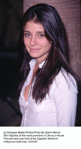 Shiri Appleby at the world premiere of Life as a House.The premiere was held at the Egyptian theatre inHollywood California. 10/24/01. © 2001 Glenn Weiner - Image 19650_0111