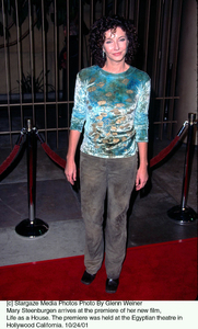 Mary Steenburgen arrives at the premiere of her new film, Life as a House. The premiere was held at the Egyptian theatre in Hollywood California. 10/24/01. © 2001 Glenn Weiner - Image 19650_0112