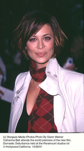 Catherine Bell attends the world premiere of the new film, Domestic Disturbance held at the Paramount studios lot in Hollywood California. 10/30/01. © 2001 Glenn Weiner - Image 19661_0101
