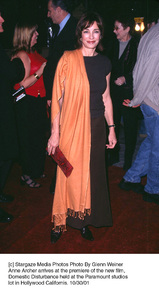 Anne Archer arrives at the premiere of the new film,Domestic Disturbance held at the Paramount studioslot in Hollywood Californis. 10/30/01. © 2001 Glenn Weiner - Image 19661_0104