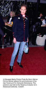 Connie Neilsen attends the world premiere of thenew Paramount film Domestic Disturbance. Thepremiere was held at the Paramount studios lot inHollywood California. 10/30/01. © 2001 Glenn Weiner - Image 19661_0106