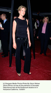 Jenna Elfman arrives at the premiere of Domestic Disturbance held at the Paramount studios lot inHollywood California. 10/30/01. © 2001 Glenn Weiner - Image 19661_0116
