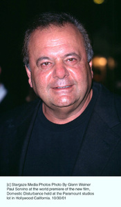 Paul Sorvino at the world premiere of the new film,Domestic Disturbance held at the Paramount studioslot in Hollywood California. 10/30/01. © 2001 Glenn Weiner - Image 19661_0118