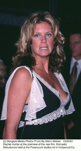 Rachel Hunter at the premiere of the new film, Domestic Disturbance held at the Paramount studios lot in Hollywood Ca. 10/30/01. © 2001 Glenn Weiner - Image 19661_0122