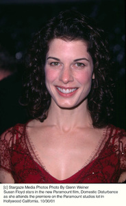 Susan Floyd stars in the new Paramount film, Domestic Disturbance as she attends the premiere on the Paramount studios lot in Hollywood California. 10/30/01. © 2001 Glenn Weiner - Image 19661_0123