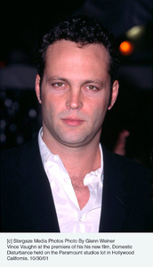 Vince Vaughn at the premiere of his his new film, Domestic Disturbance held on the Paramount studios lot in Hollywood California. 10/30/01. © 2001 Glenn Weiner - Image 19661_0130