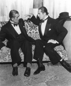 """Raven, The""Boris Karloff, Bela Lugosi1935 Universal / **I.V. - Image 19664_0002"