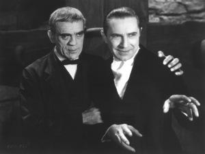"""Raven, The""Boris Karloff, Bela Lugosi1935 Universal / **I.V. - Image 19664_0003"