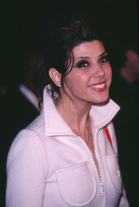 Marisa Tomei at the premiere of her new film, In the Bedroom held at the Academy of Motion Pictures Arts & Sciences in Beverly Hills California. 11/15/01. © 2001 Glenn Weiner - Image 19680_0111