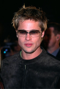 Brad Pitt attends the premiere of his new film, Spy Game held at the Mann National theatre in Westwood California. 11/19/01. © 2001 Glenn Weiner - Image 19691_0103