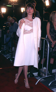 Lucy Lawless at the premiere of the new film, Spy Game held at the Mann National theatre in Westwood California 11/19/01. © 2001 Glenn Weiner - Image 19691_0121