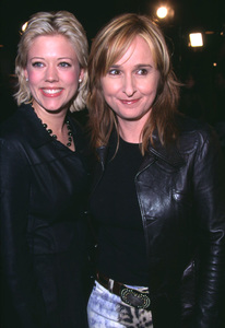 Melissa Ethridge and girlfriend Tammy Lynn Michaels attend the premiere of Spy Game held at the Mann National theatre in Westwood California. 11/19/01. © 2001 Glenn Weiner - Image 19691_0130