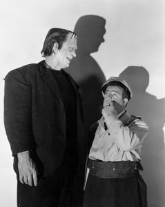 """Abbott and Costello Meet Frankenstein""Glenn Strange, Lou Costello1948 UI - Image 19699_0017"